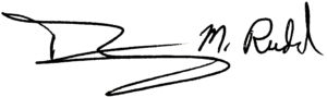 Tim Rudd Signature