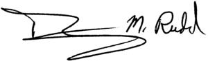 Tim Rudd Signature