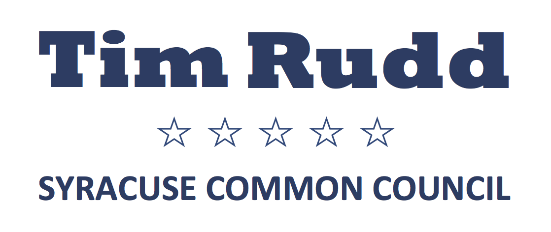 Elect Tim Rudd | Syracuse Common Council (2017)